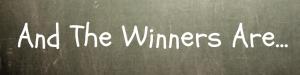 This week winners, June,25