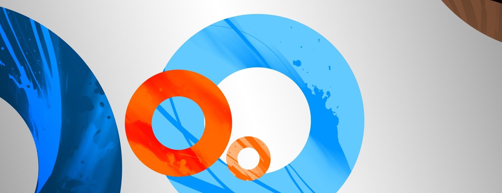Circles in website design