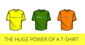 THE HUGE POWER OF A T-SHIRT