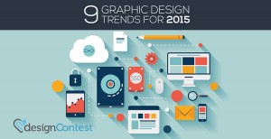 9 GRAPHIC DESIGN TRENDS FOR 2015