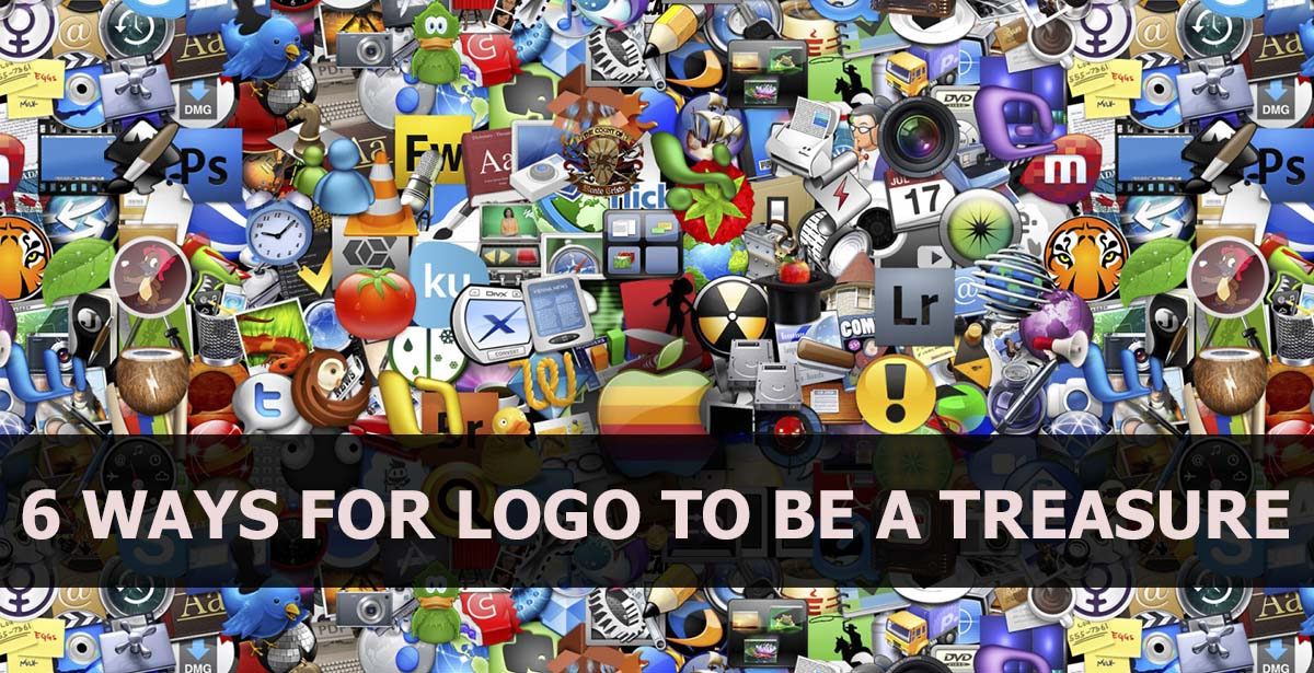 6 WAYS FOR LOGO TO BE A TREASURE