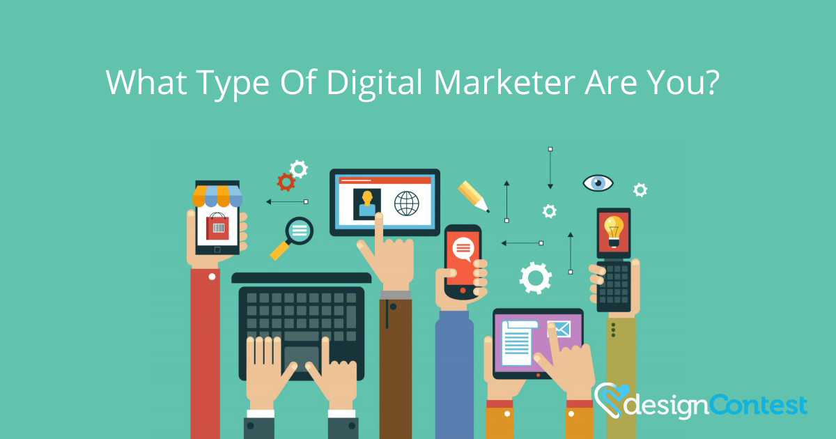 What Type Of Digital Marketer Are You? | Infographic