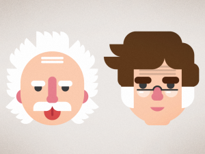 What If Famous Scientists Had Logos
