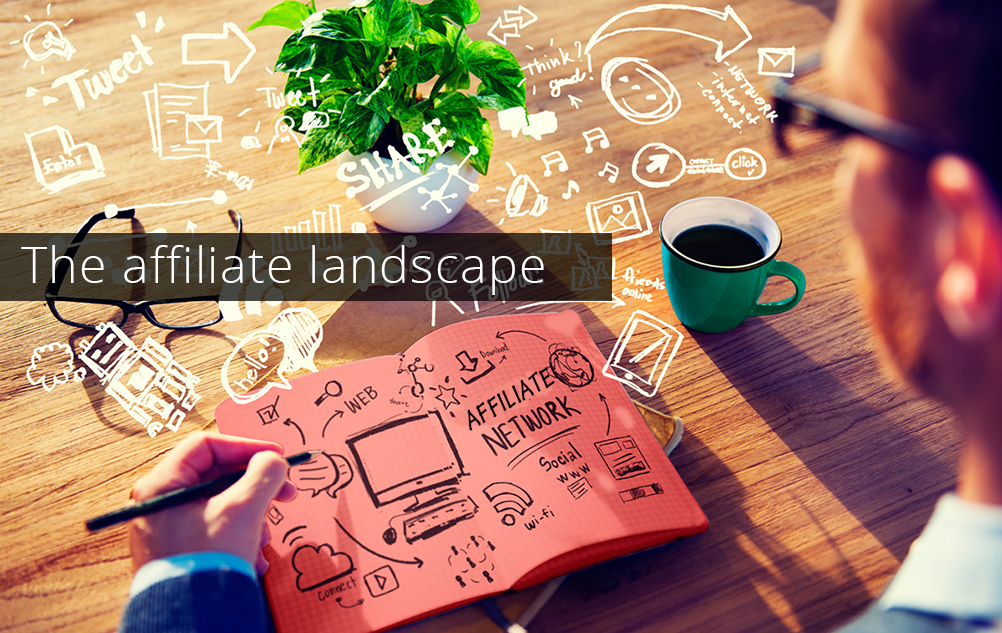 The Affiliate Landscape [Infographics]