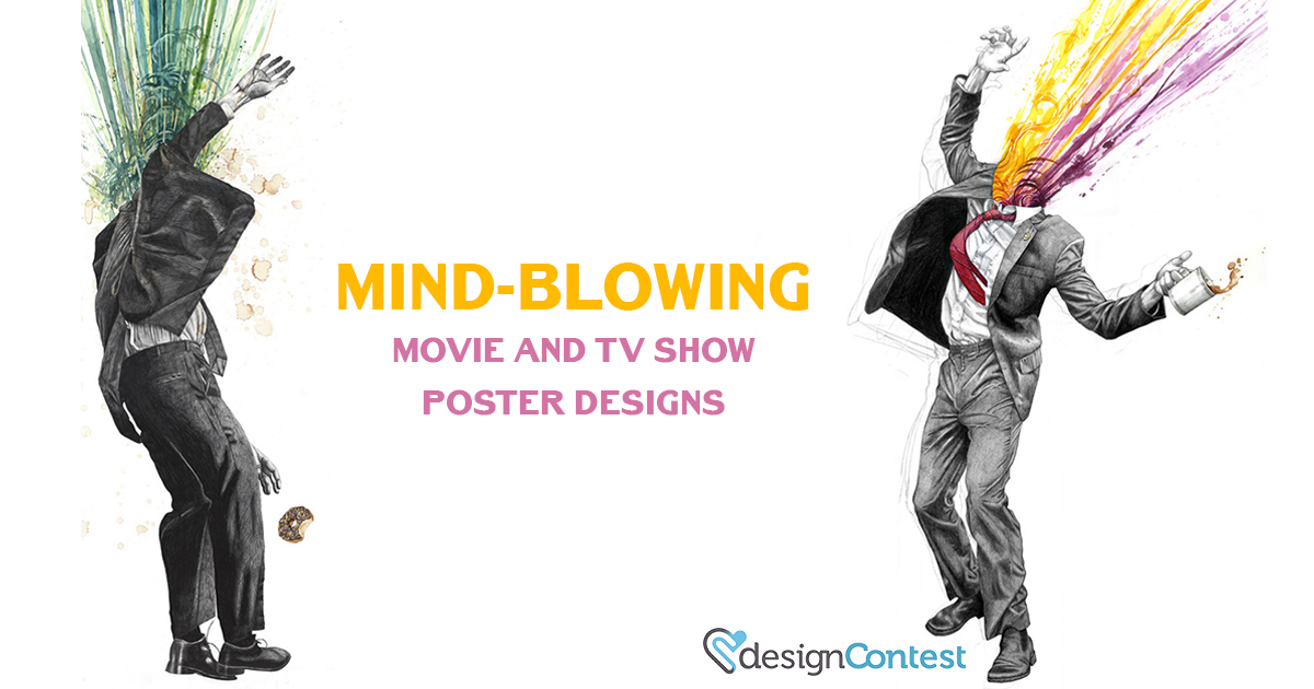 Mind-blowing Movie and TV Show Poster Designs