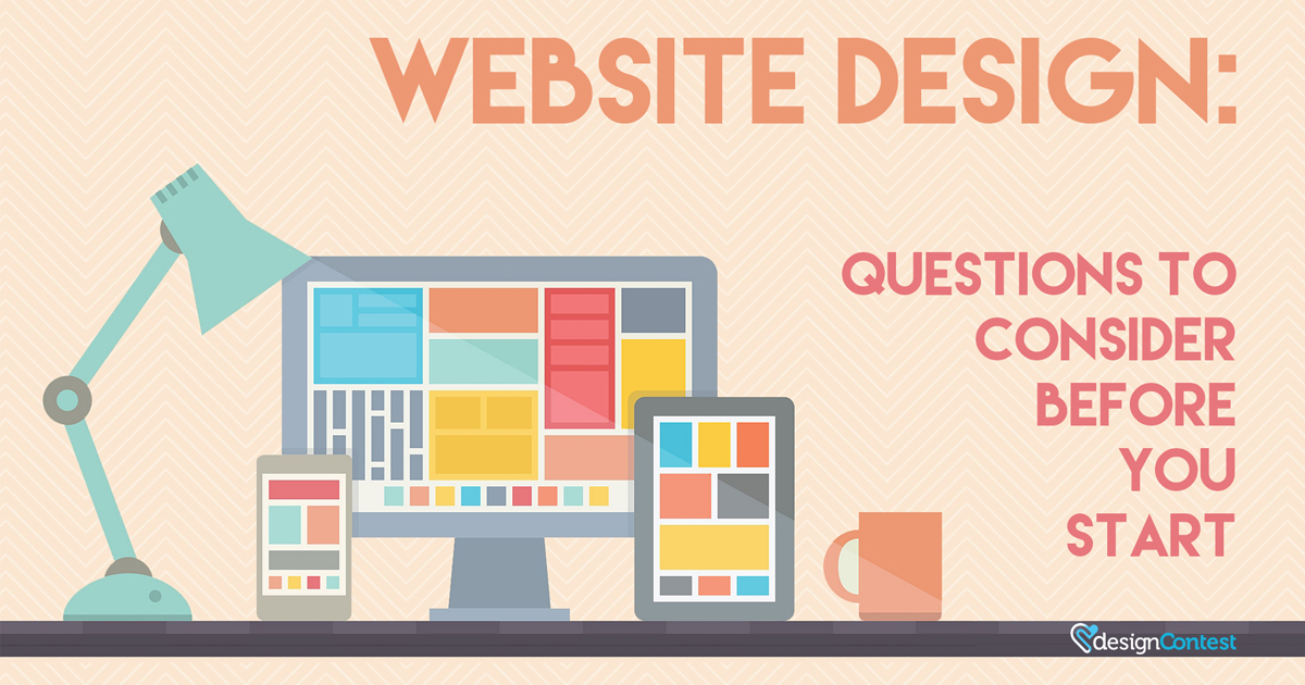 Website Design: Questions to Consider Before You Start