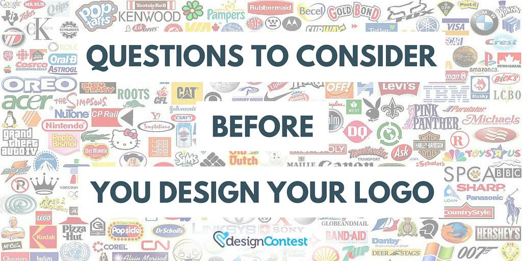 Questions to Consider Before You Design Your Logo