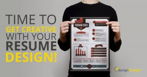 Time to Get Creative With Your Resume Design!