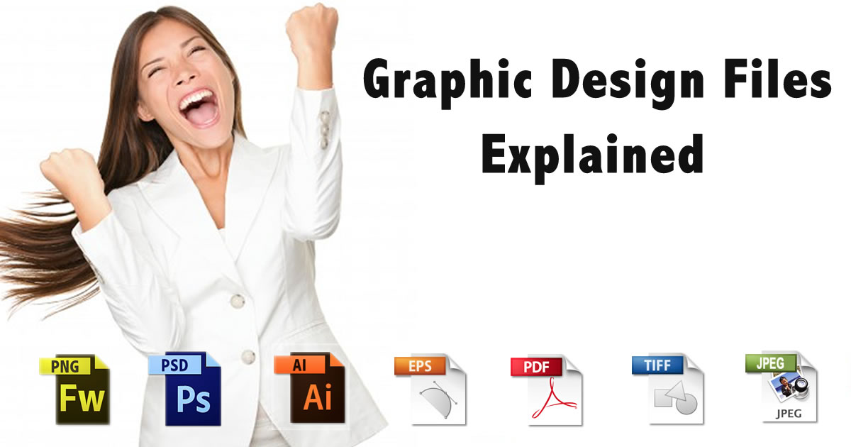 Know Your Graphic File Types! [Infographics]