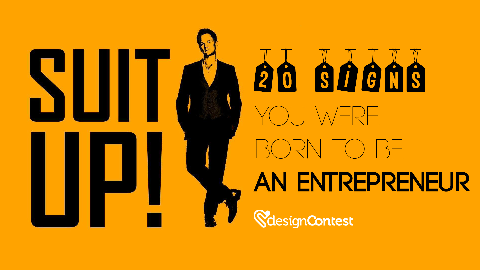 20 Signs You Were Born to Be an Entrepreneur