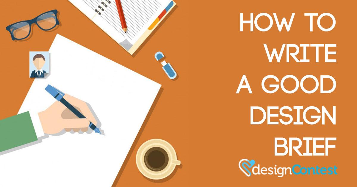 How to Write a Good Design Brief
