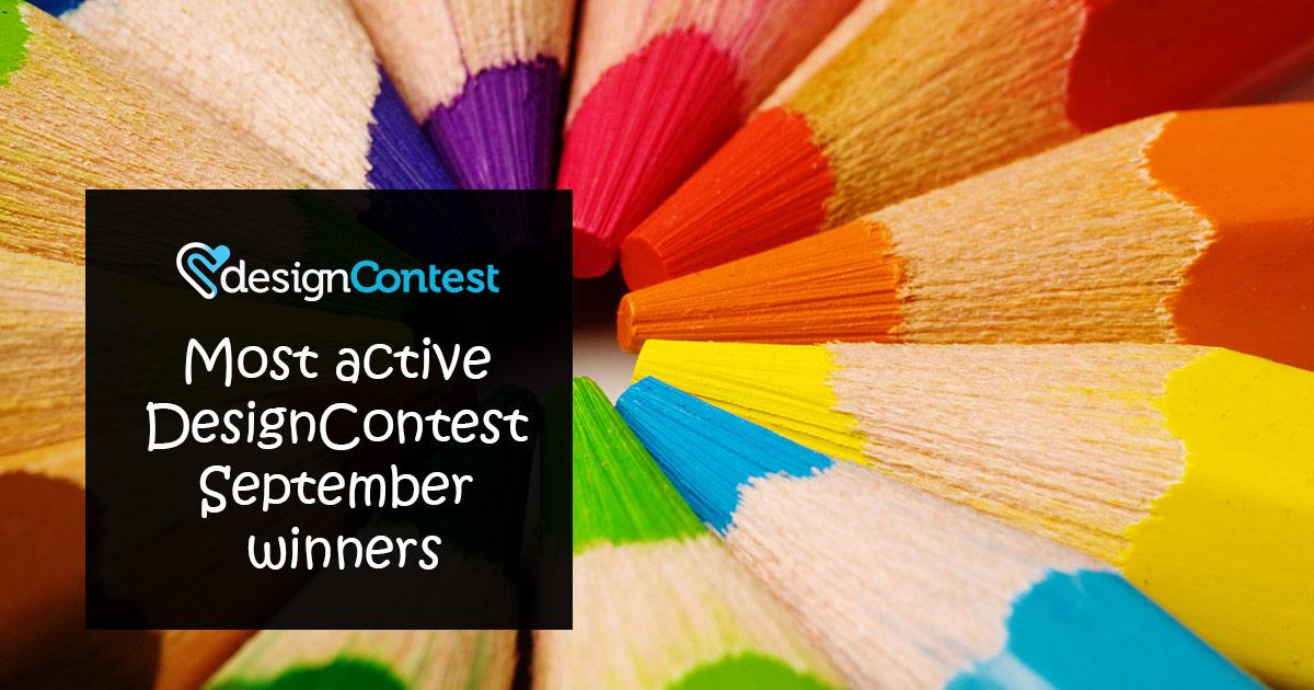 September Most Active DesignContest Winners