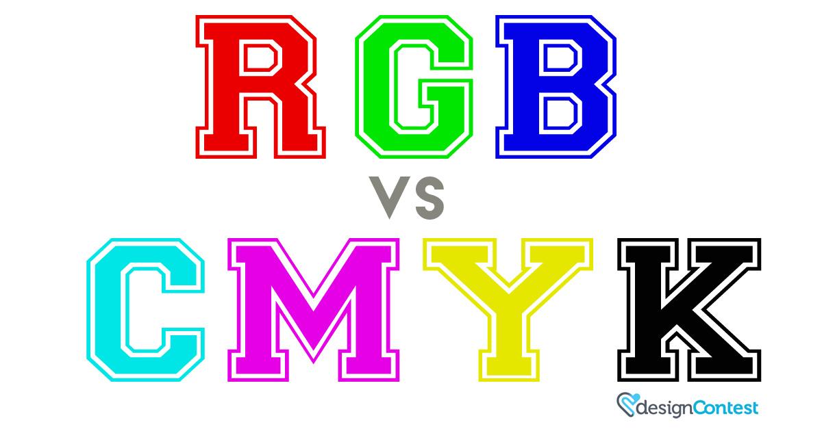 RGB vs CMYK [Infographics]