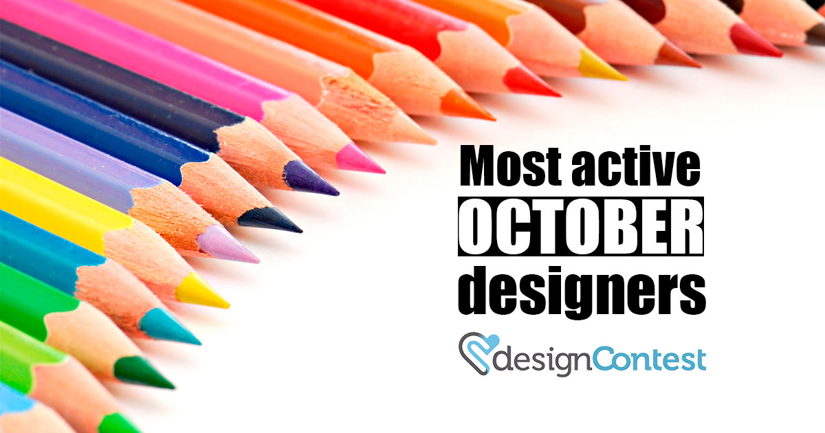 October Most Active DesignContest Winners
