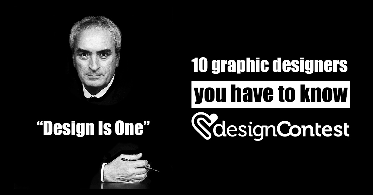 10 Graphic Designers You Have to Know