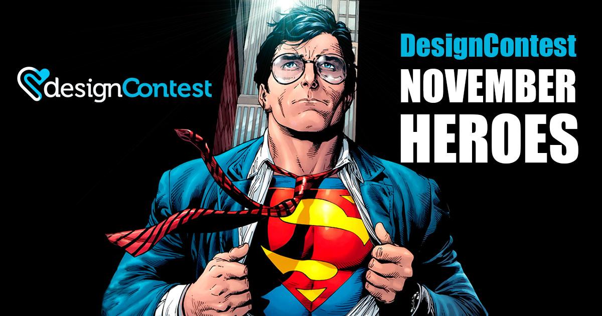November Most Active DesignContest Winners