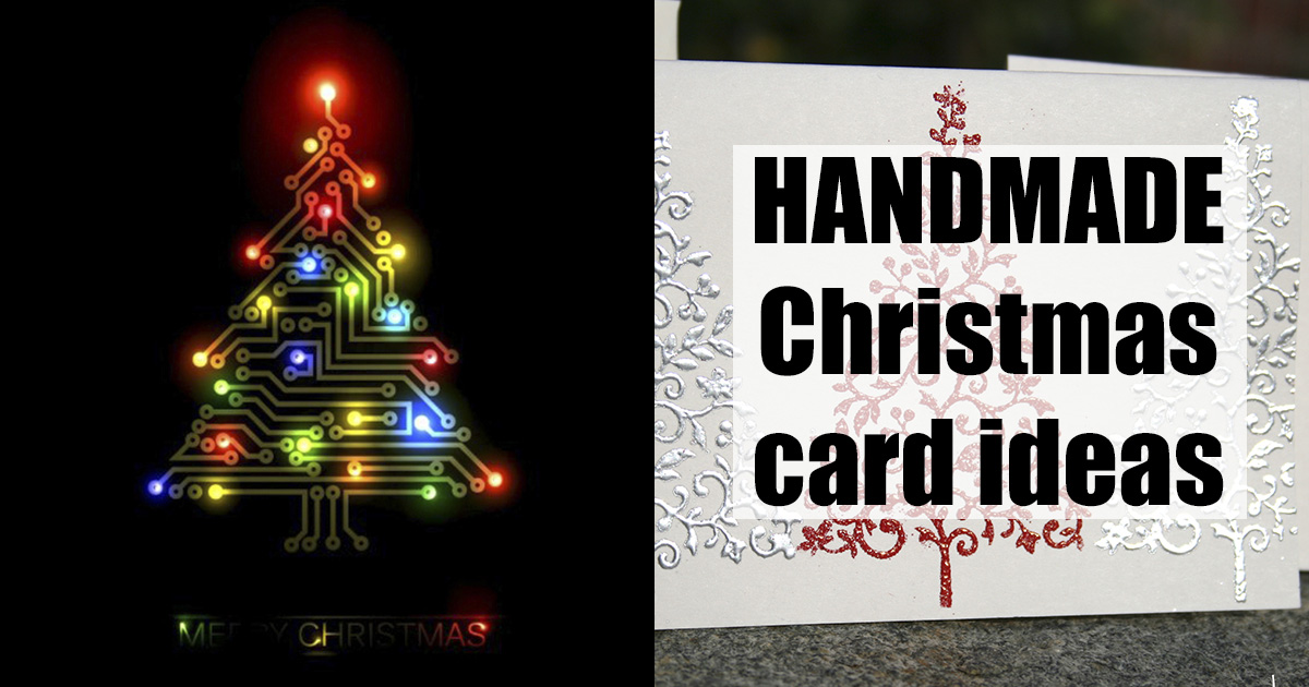 Christmas Cards You Can Make On Your Own