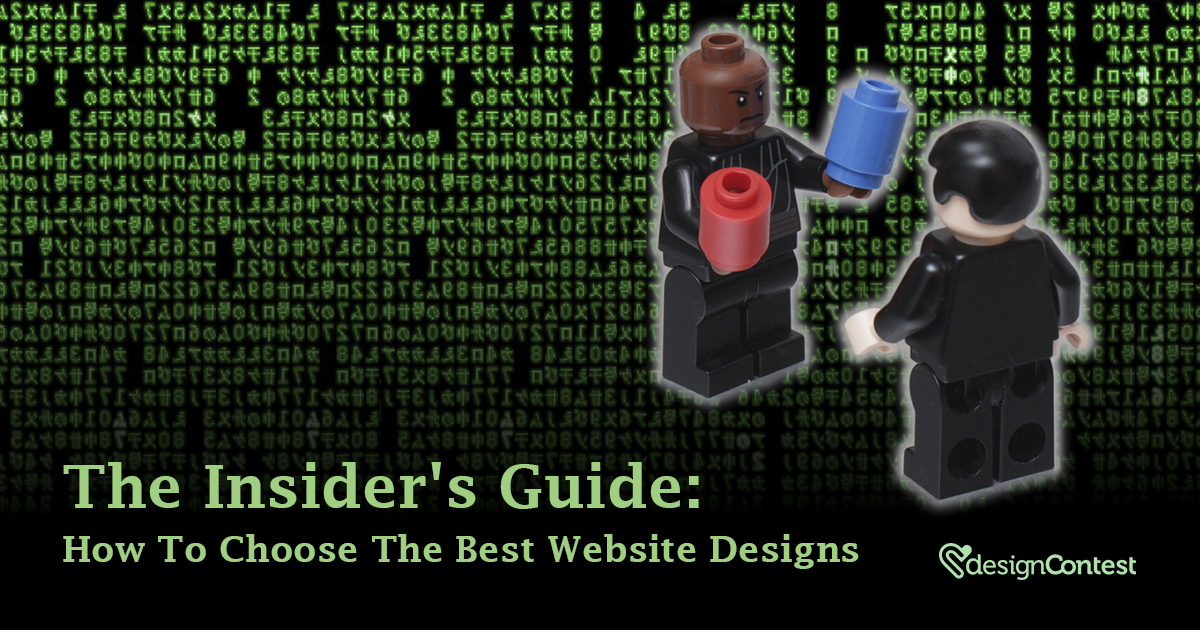 The Insider's Guide: How To Choose The Best Website Designs