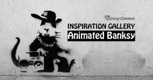 Inspiration Gallery: Animated Banksy!