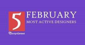 February Most Active DesignContest Winners