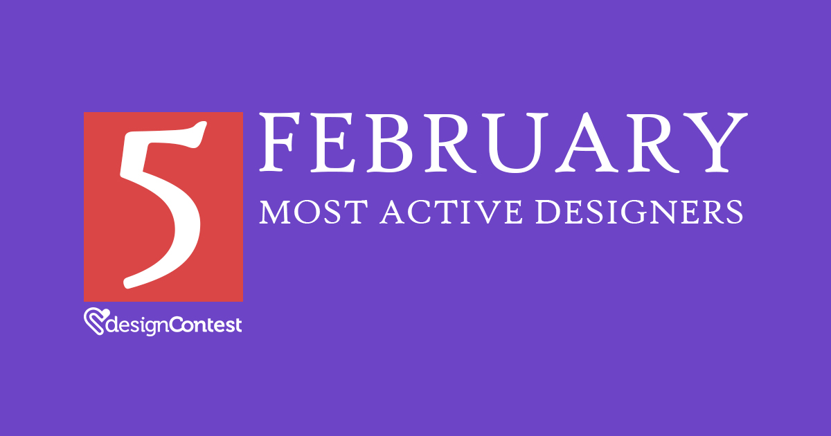 February Most Active DesignContest Winners