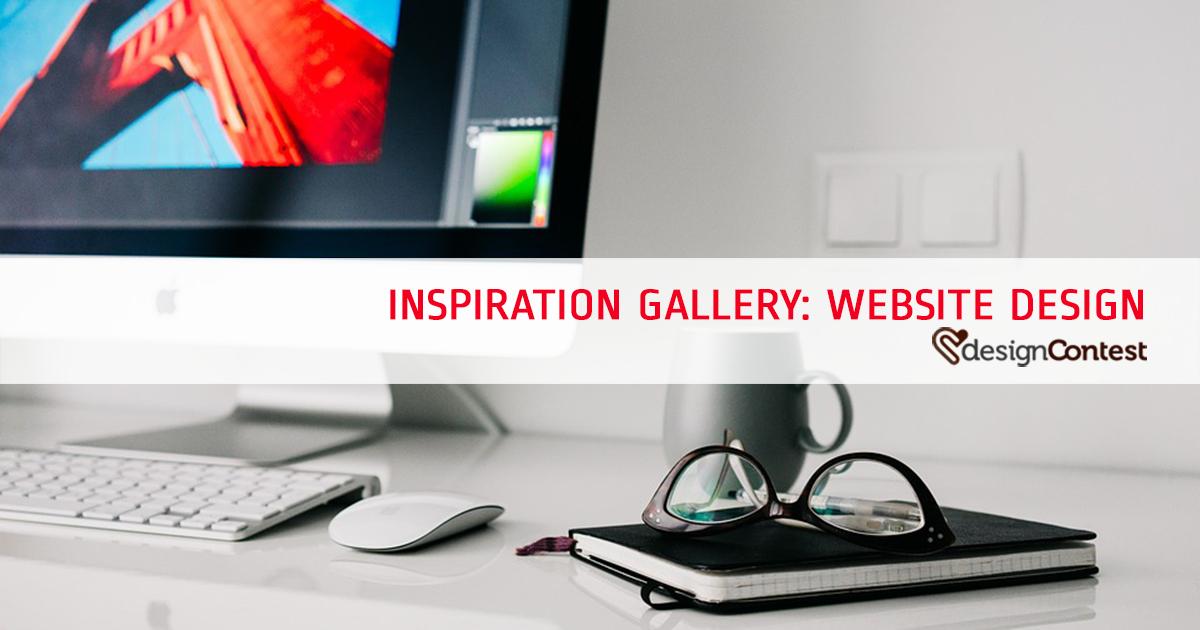 Inspiration Gallery: Website Design