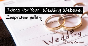 Inspiration Gallery: Ideas For Your Wedding Website