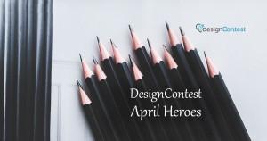 April Most Active DesignContest Winners