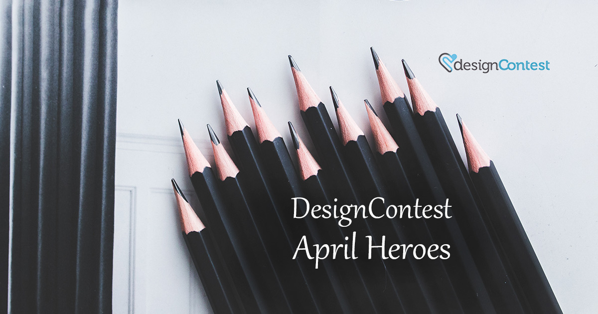 April Most Active DesignContest Winners