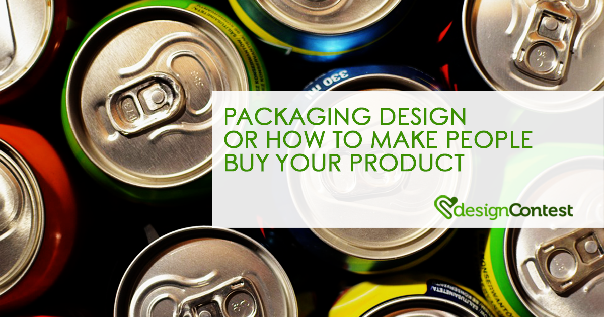 Packaging Design or How to Make People Buy Your Product