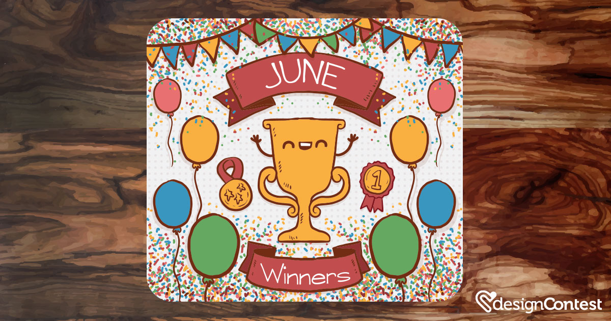 June Most Active DesignContest Winners