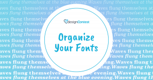 Organize Your Fonts