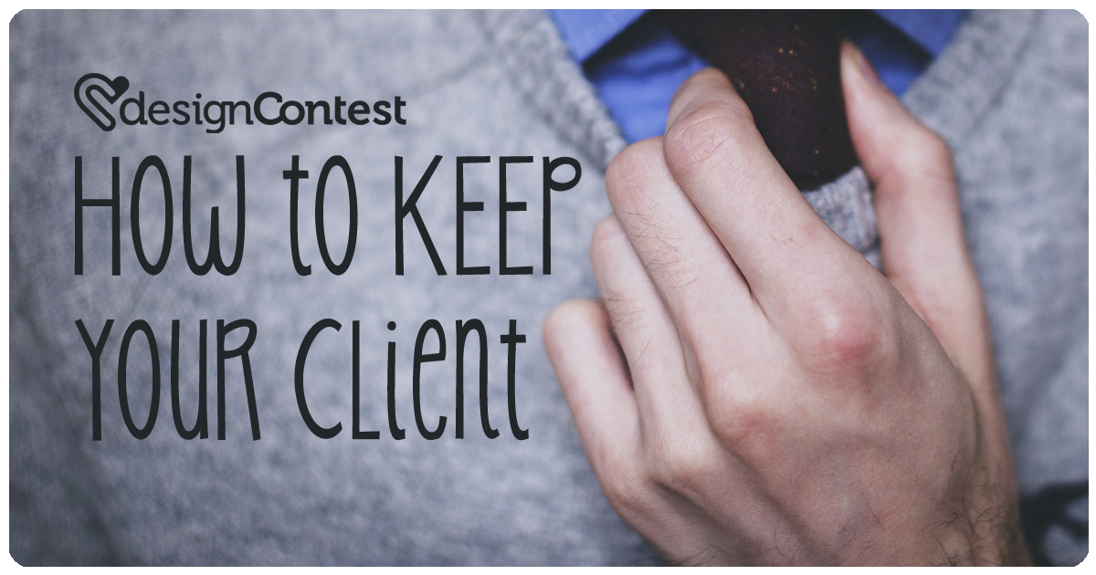 How to keep your client