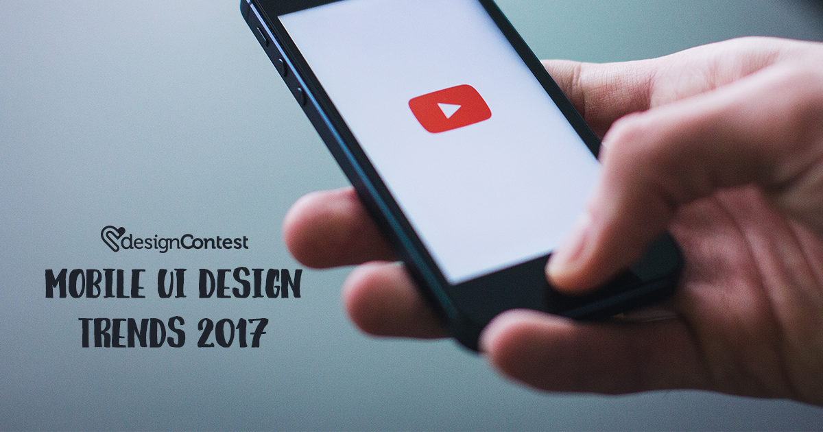 Mobile UI Design Trends 2017