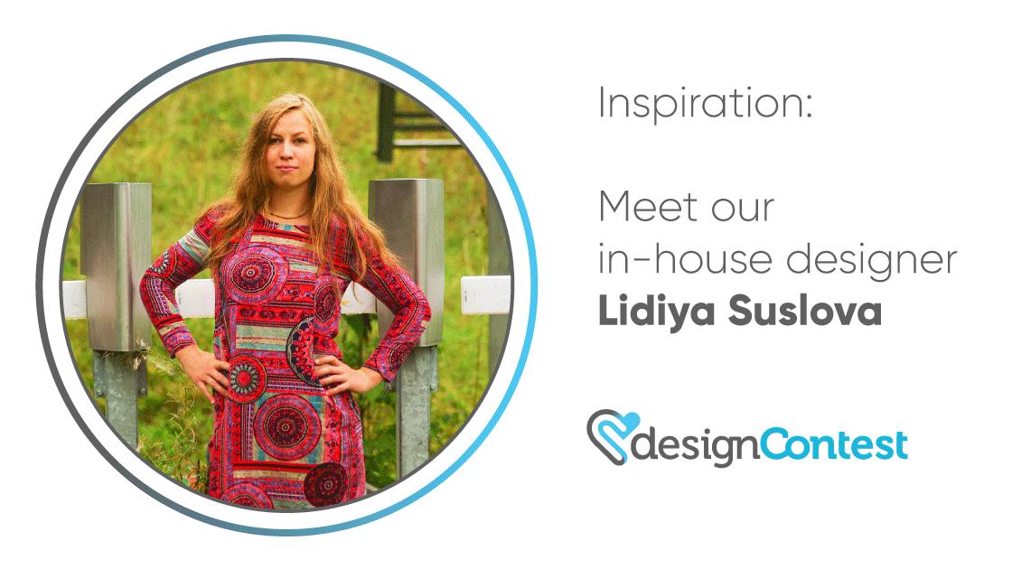 DesignContest Inspiration: Meet Our In-House Designer Lidiya Suslova