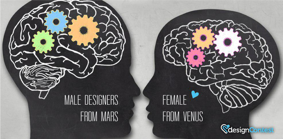 Battle Of Genders. Male Designers VS Female: Who Is Better To Work With?