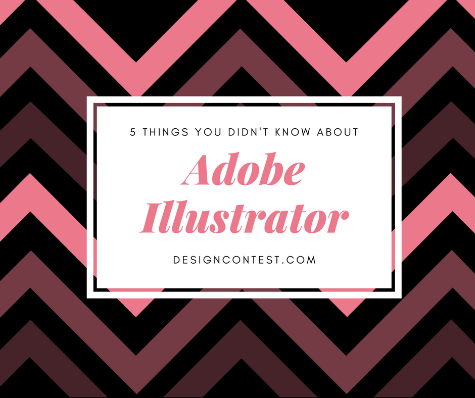 Five Things You Didn't Know About Adobe Illustrator