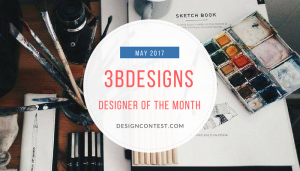 Designer Of the Month: 3bdesigns – May 2017