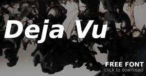 Download Free Tuesday Design Font: DeJa Vu