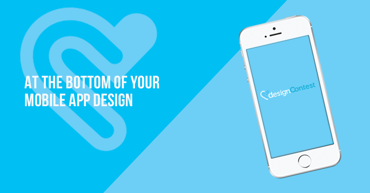 At The Bottom Of Your Mobile App Design