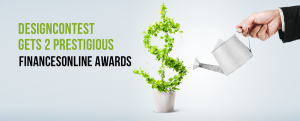 Two Prestigious FinancesOnline Awards Given To DesignContest
