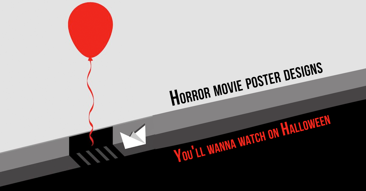 Horror Movie Poster Designs You'll Wanna Watch On Halloween
