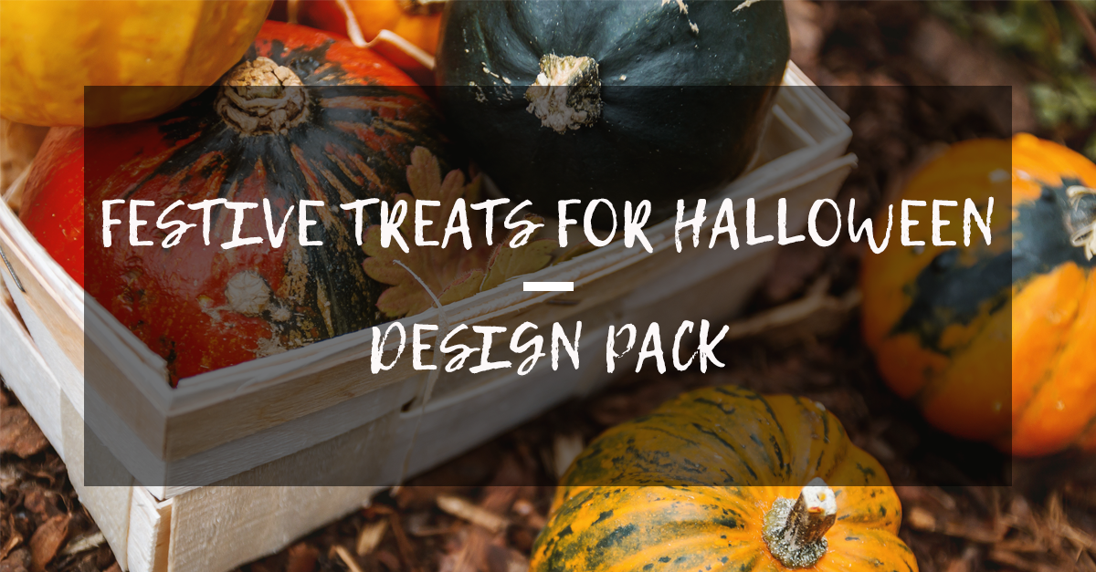 Festive Treats for Halloween: Design Pack