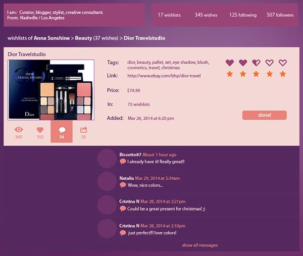 ultra violet website design