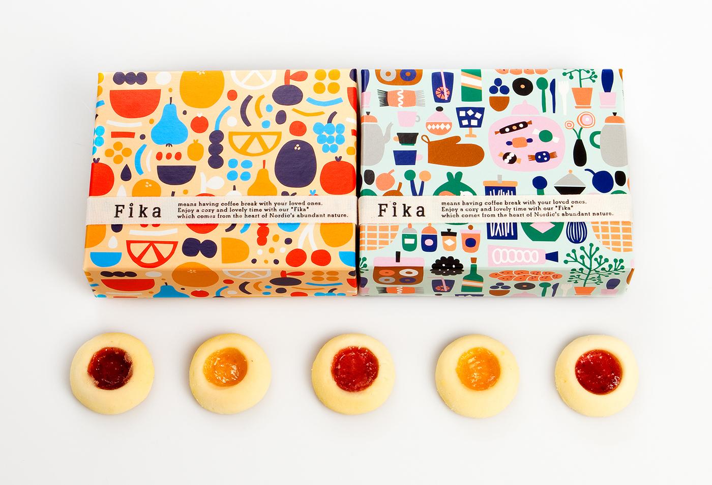 pattern design packaging design