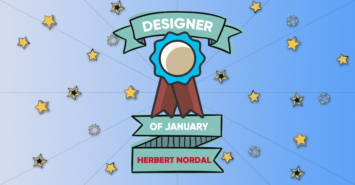 Designer Of The Month: HerbertNordal – January 2018