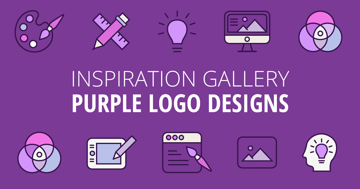 The Power of a Purple Logo