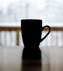 Inspired design ideas for black colored coffee mugs